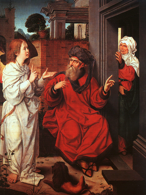 Abraham, Sarah and the Angel